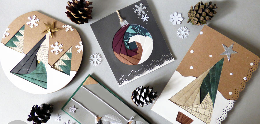 monthly make workshop christmas card making  buxton